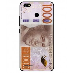 Durable 1000Kr Sweden Note Cover For ZTE Blade A3