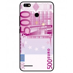 Durable 500 Euro Note Cover For ZTE Blade A3