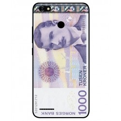 1000 Norwegian Kroner Note Cover For ZTE Blade A3