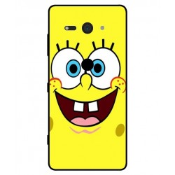 Durable SpongeBob Cover For Sony Xperia XZ2 Compact