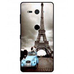 Durable Paris Eiffel Tower Cover For Sony Xperia XZ2 Compact