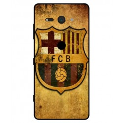 Durable FC Barcelona Cover For Sony Xperia XZ2 Compact