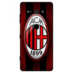 Durable AC Milan Cover For Sony Xperia XZ2 Compact