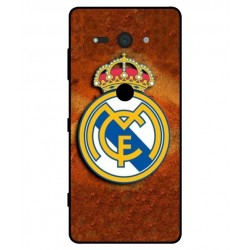 Durable Real Madrid Cover For Sony Xperia XZ2 Compact