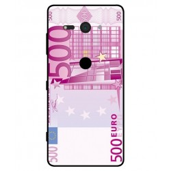 Durable 500 Euro Note Cover For Sony Xperia XZ2 Compact