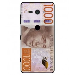Durable 1000Kr Sweden Note Cover For Sony Xperia XZ2 Compact