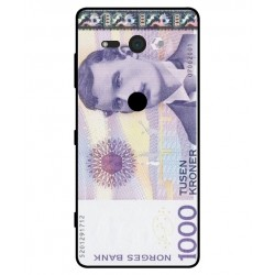 1000 Norwegian Kroner Note Cover For Sony Xperia XZ2 Compact