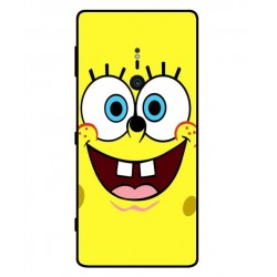 Durable SpongeBob Cover For Sony Xperia XZ2