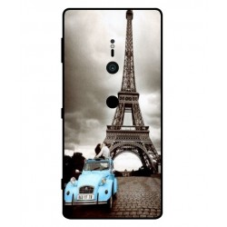 Durable Paris Eiffel Tower Cover For Sony Xperia XZ2