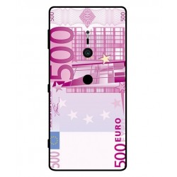 Durable 500 Euro Note Cover For Sony Xperia XZ2
