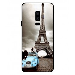 Durable Paris Eiffel Tower Cover For Samsung Galaxy S9