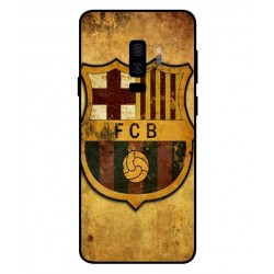 Durable FC Barcelona Cover For Samsung Galaxy S9