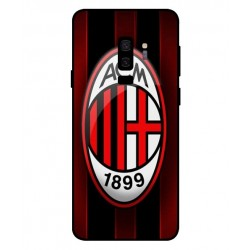 Durable AC Milan Cover For Samsung Galaxy S9