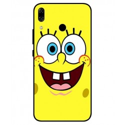 Durable SpongeBob Cover For Asus Zenfone 5z ZS620KL