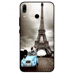 Durable Paris Eiffel Tower Cover For Asus Zenfone 5z ZS620KL
