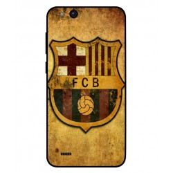Durable FC Barcelona Cover For ZTE Tempo Go