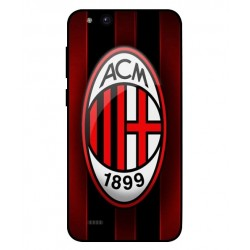 Durable AC Milan Cover For ZTE Tempo Go