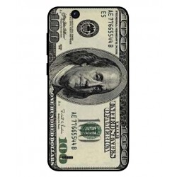 Durable 100 Dollar Note Cover For ZTE Tempo Go