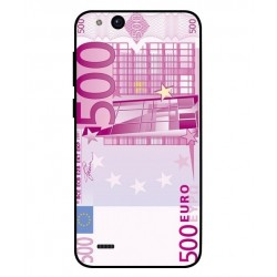Durable 500 Euro Note Cover For ZTE Tempo Go