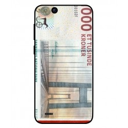 1000 Danish Kroner Note Cover For ZTE Tempo Go