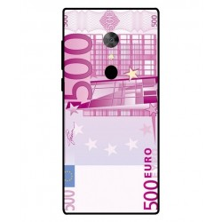 Durable 500 Euro Note Cover For Alcatel 5