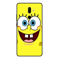 Durable SpongeBob Cover For Nokia 7 Plus