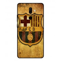 Durable FC Barcelona Cover For Nokia 7 Plus