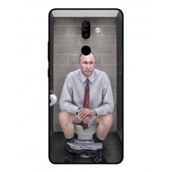 Durable Vladimir Putin On The Toilet Cover For Nokia 7 Plus