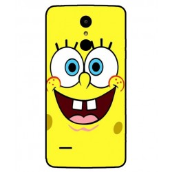 Durable SpongeBob Cover For LG K8 2017 Dual SIM