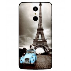 Durable Paris Eiffel Tower Cover For LG K8 2017 Dual SIM
