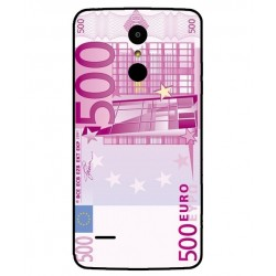 Durable 500 Euro Note Cover For LG K8 2017 Dual SIM