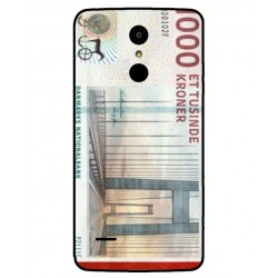 1000 Danish Kroner Note Cover For LG K8 2017 Dual SIM