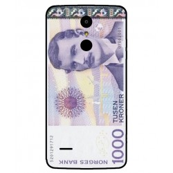 1000 Norwegian Kroner Note Cover For LG K8 2017 Dual SIM