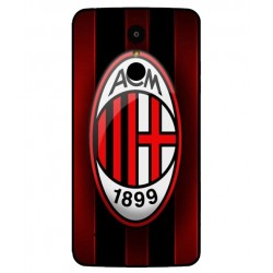 Durable AC Milan Cover For LG K8 2017 Dual SIM