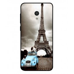 Durable Paris Eiffel Tower Cover For Alcatel 1x