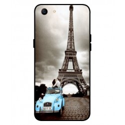 Durable Paris Eiffel Tower Cover For Oppo A1
