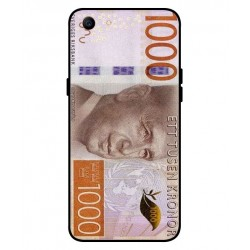 Durable 1000Kr Sweden Note Cover For Oppo A1