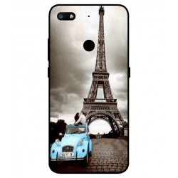 Durable Paris Eiffel Tower Cover For ZTE Nubia V18