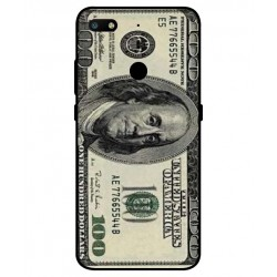 Durable 100 Dollar Note Cover For ZTE Nubia V18