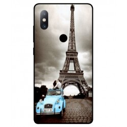 Durable Paris Eiffel Tower Cover For Xiaomi Mi Mix 2s