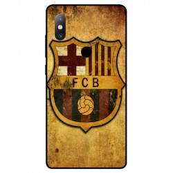 Durable FC Barcelona Cover For Xiaomi Mi Mix 2s
