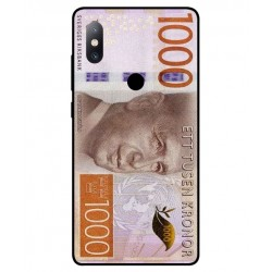Durable 1000Kr Sweden Note Cover For Xiaomi Mi Mix 2s