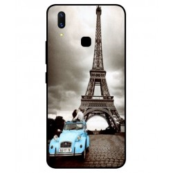 Durable Paris Eiffel Tower Cover For Vivo X21