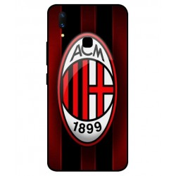 Durable AC Milan Cover For Vivo X21