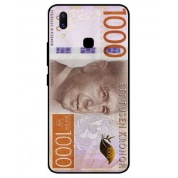 Durable 1000Kr Sweden Note Cover For Vivo X21