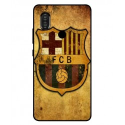 Durable FC Barcelona Cover For Sharp Aquos S3