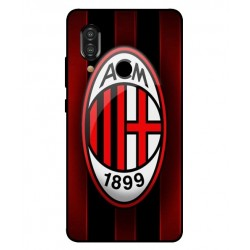 Durable AC Milan Cover For Sharp Aquos S3