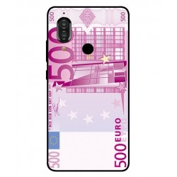 Durable 500 Euro Note Cover For Sharp Aquos S3