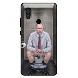 Durable Vladimir Putin On The Toilet Cover For Sharp Aquos S3