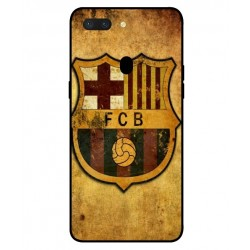 Durable FC Barcelona Cover For Oppo R15